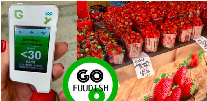 nitraadisisaldus, maasikad